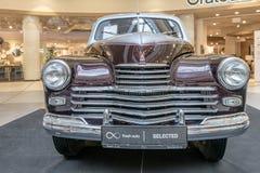 Von Ausstellung von seltenen Autos 40-70 Jahren vor vom 20. Jahrhundert Stockfotos