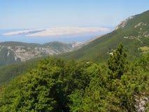 Von Berg zu Meer Lizenzfreies Stockbild