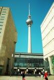Von Berlin Fernsehturm, Fernsehen-Ausflug Lizenzfreie Stockfotografie