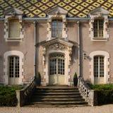 Von Burgund Barock - Chateau Corton-Andre, Frankreich Stockbilder