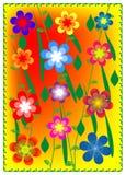 Von com flores 1 Foto de Stock Royalty Free