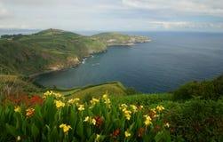 Von den Azoren Ansicht Stockbild