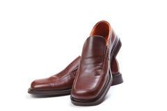 Von den Schuhen Stockfotos