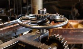 Von der alten spinnenden Mühle lizenzfreie stockfotografie