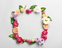 Von der Blumenfeldserie lizenzfreie stockfotografie