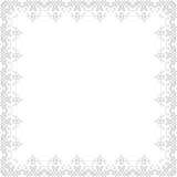 Von der Blumenfeldserie Abstrakte silberne Verzierung Lizenzfreie Stockbilder
