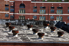 Von der Dachspitze Stockbilder
