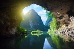 Von der Grotte Lizenzfreies Stockbild