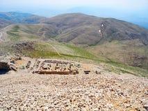 Von der Höhe des Hügels Lizenzfreie Stockbilder