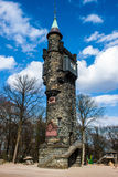Von-der-Heydt-Turm observation tower Stock Photography