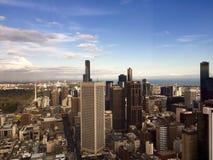 Von der oben genannten Ansicht Stockfotos