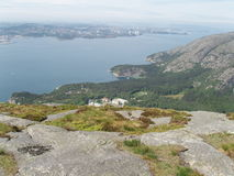 Von der Spitze des Berges Lizenzfreie Stockbilder
