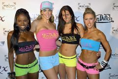 Von Dutch models. At the Viardo Agency Presents Dennis Rodman's 43rd Birthday Bash at The Highlands Nightclub in the Hollywood & Highland Complex, Hollywood, CA Stock Image