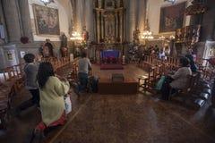 Von Guadalupe Basilica Stockbild
