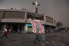 Von Guadalupe Basilica Stockfotos