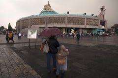 Von Guadalupe Basilica Stockfotografie
