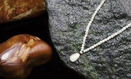 Von Halsketten und was sie gemacht werden Lizenzfreies Stockbild