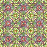 Von Hand gezeichnet nahtloses Muster Verzierung für Stickerei stock abbildung