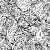 Von Hand gezeichnetes abstraktes Muster Stockbild