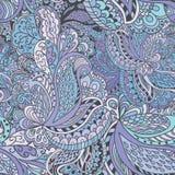 Von Hand gezeichnetes abstraktes nahtloses Muster Stockfotos