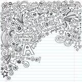 Stern-Studenten-große Grade A plus Inky Notizbuch Doo Lizenzfreies Stockfoto