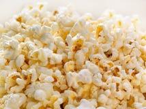 Von hinten beleuchteter Popcornhintergrund Lizenzfreie Stockfotografie