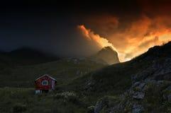 Von Holmjorda bei Napp Stockfoto