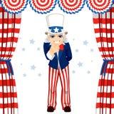 von Juli-Uncle Sam Stockfotografie