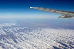Von Karman vortex streets cloud formation Stock Images