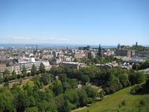 Von links nach rechts können die pentland Hügel, die Oberseite Kathedrale der Str Lizenzfreie Stockfotos