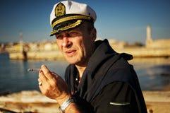 Von mittlerem Alter Seemann Stockfotos