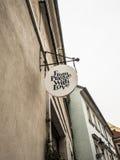 Von Prag mit Liebe Stockbilder
