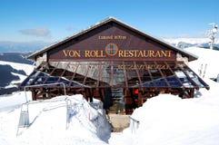 Von Roll restaurant in Jasna Low Tatras stock photos