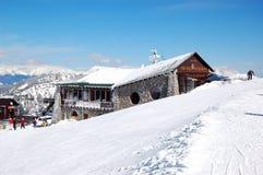 Von Roll restaurant in Jasna Low Tatras royalty free stock photo