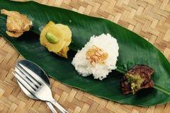 Von Sumatra zu Java auf einem Blatt Lizenzfreie Stockbilder
