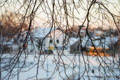Von wildem zur Stadt Lizenzfreies Stockfoto