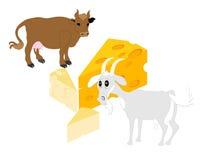 Von wo Käse kommt vektor abbildung