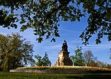 Vondel-Monument Vondelpark Lizenzfreie Stockfotos