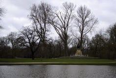 Vondelpark在阿姆斯特丹,荷兰 库存图片