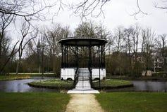 Vondelpark湖 库存图片