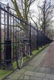 Vondelpark Amsterdam Är ett offentligt stads- parkerar av 47 hektar (12 Arkivbilder