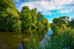 Vondelpark in Amsterdam Lizenzfreie Stockfotos
