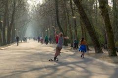 Vondelpark en Amsterdam Fotografía de archivo libre de regalías