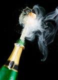 Vonken van champagne royalty-vrije stock fotografie