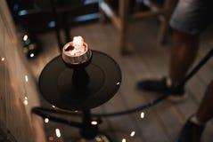 Sier arabische lantaarn met het branden van kaars die bij nacht gloeien groetkaart uitnodiging - Designer koffietafel verkoop ...