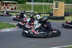 Vont la course de Karting photographie stock