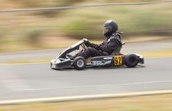 Vont le coureur #92 de kart Image stock