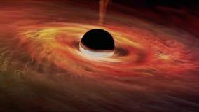 Voo através de um campo de estrela no espaço Estrela-campo infinito do cosmos ilustração do vetor