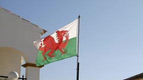 Voo da bandeira de Galês filme