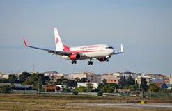 Voo de Air Algerie Fotografia de Stock